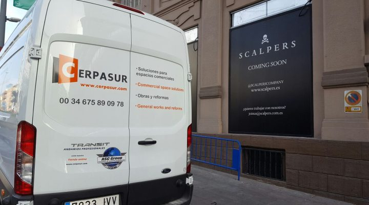 Cerpasur does not rest renovating commercial spaces