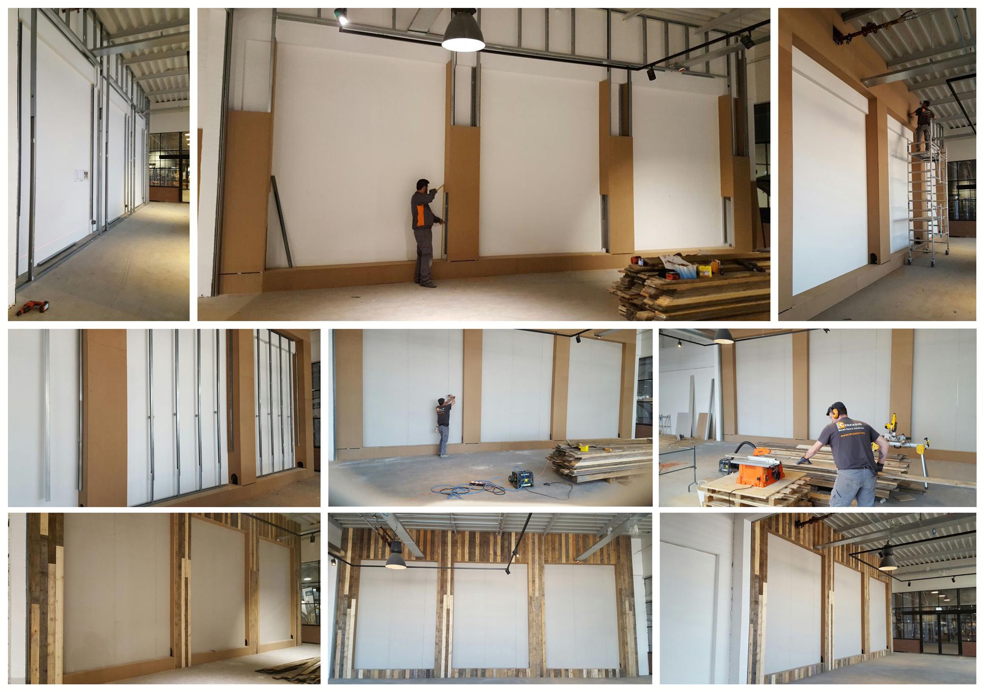 Construcción de tienda Rivièra Maison en Zaandam - Holanda por Cerpasur
