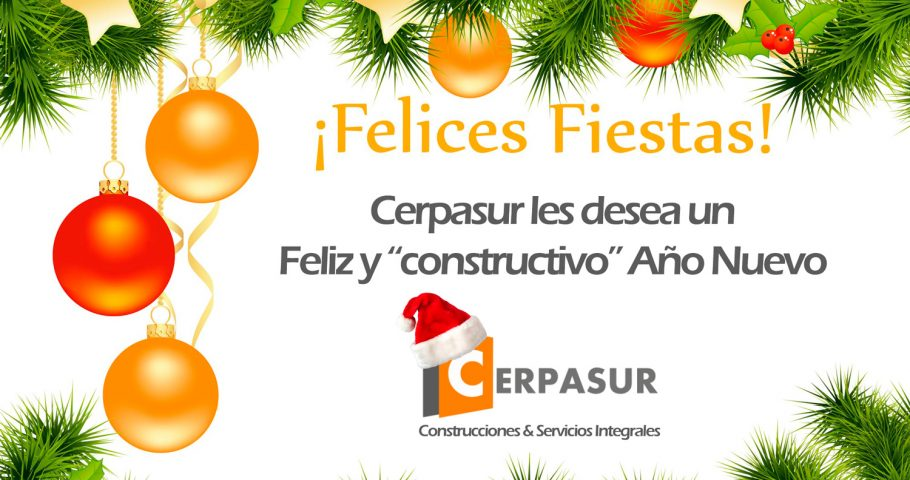 Cerpasur wishes you Happy Holidays and a prosperous New Year